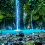 Two Colors Sibolangit Waterfall, One of The Most Beautiful Waterfalls in Indonesia